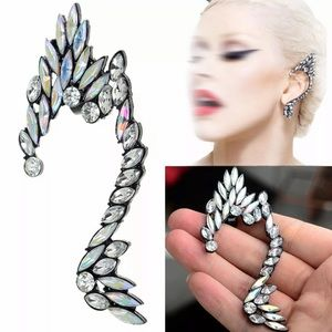 Imogen Iridescent Crystal Ear Cuff